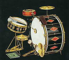 Older American Drums and Cymbals Kitchener / Waterloo Kitchener Area image 1