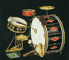 Older American Drums and Cymbals