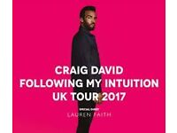 Craig David tickets @ London O2 - Sunday 26 March 2017 - seated tickets