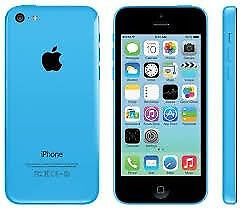 Refurbished Apple iPhone 5c Blue 8Gb Unlocked Good Condition 6 Month Warranty Sim, USB laptop charge