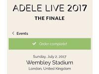 Adele tickets Sunday 2 july