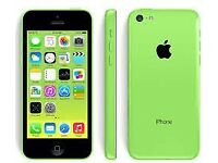 Green iphone 5c - good condition