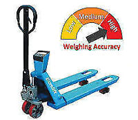 NEW *** Hand Pallet Truck with Scale $799.99! Low Price