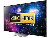 big screen 4k tv want cash waiting