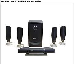 Dell MMS 5650 5.1 Surround speakers