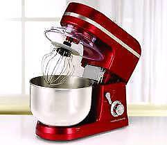 Morphy richards red stand mixer