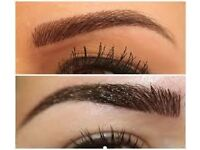 Semi permanant microblade eyebrows