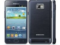 samsung galaxy s2 + 8gb black brand new in box