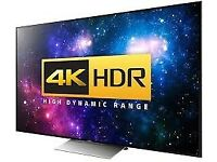 4k tv wanted bigger the better
