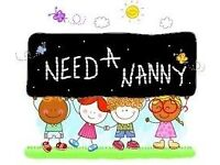 Live Out Nanny , Kenley, London , 8 year old girl and 2 year old boy
