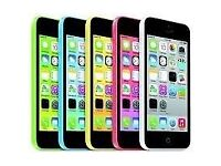 APPLE IPHONE 5C 32GB UNLOCKED MINT CONDITION COMES WITH WARRANTY & ALL ACCESSORIES