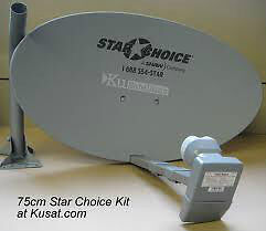 Antenne Shaw ou Star Choice