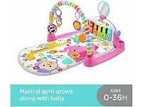 Fisher-Price FWT25 Deluxe Kick and Play Piano Gym