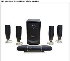 Dell 5650 - 5.1 Surround Sound Speakers