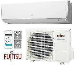 FUJITSU COOL DOWN FOR SUMMER DEALS - 2.5KW TO 9.4KW REVERSE CYCLE