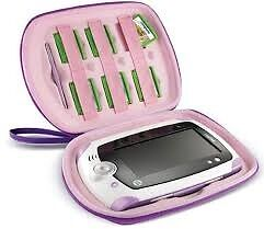 Leappad and carry case - Purple, excellent condition