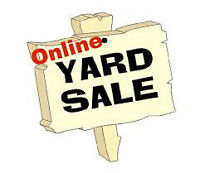 ONLINE YARD SALE - Some prices already reduced!!!!!
