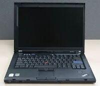 IBM Lenovo ThinkPad 61 notebook, 14.1'', 80GB HDD, 1.8 GHz