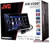 JVC  DVD  Bluetooth ,USB, AUX IPOD, IPHONE ...,Garante un ans