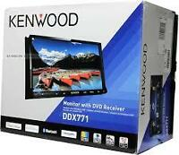Kenwood DVD  Bluetooth ,USB, AUX IPOD, IPHONE ...,Garante un ans