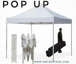 POP UP À VENDRE FOR SALE EASY UP CHAPITEAU MARIAGE PARTY FESTIVAL EXPOSITION TENT SELL