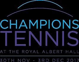 Royal Albert Hall Champions tennis 2017 ATP champions tour2nd December 6pm session 2tickets face val