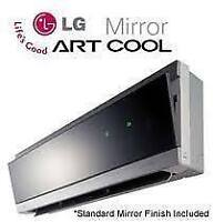 LG mini split heat pump