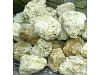 Ocean marine rock for marine or cichlid fish tank