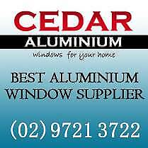 Cedar Aluminium - Supply Aluminium Window & door - Chester Hill