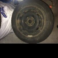 "15"" Steel Rims and Tires (set of 4)"