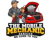 Mobile Mechanic. We come to your home or work.