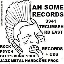 Need cash? We buy lps cds AH SOME RECORDS 3341 Tecumseh rd East