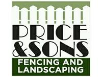 Price and sons fencing and landscaping