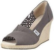 Toms Canvas Wedge
