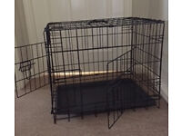 Small dog crate cheap for quick sale!