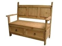 Corona Bench with 2 drawers. NEW! £89.99.