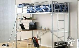Single metal loft bed in fabulous condition Petersham Marrickville Area Preview