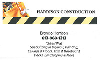 HARRISON CONSTRUCTION