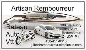 REMBOURREUR D'AUTO CLASSIQUE & BATEAU 450-451-0618