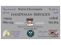 PLASTERER TILER HANDYMAN AVAILABLE DUE TO CANCELLATION FULLY INSURED QUALIFED TRADESMAN