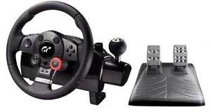 Logitech GT Steering Wheel for PS3 and PC