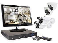 CCTV, ALARM, SATELLITE DISH, SECURITY LIGHT FITTING