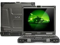 TOUCHSCREEN TOUGHBOOK GETAC V200-X Fully Rugged CORE I7 2.0 Ghz 8Gb 500 GB SSD