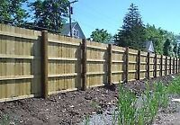 Post Holes, Deck and Fence Service