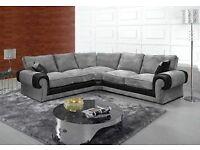 New jumbo size corner sofa