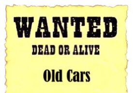 CARS WANTED FOR SCRAP//recycling