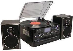 hi fi system compact shelf stereos ebay. Black Bedroom Furniture Sets. Home Design Ideas