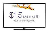 Internet and TV for $30