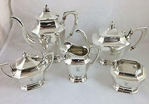 Silver Coffee Set | eBay