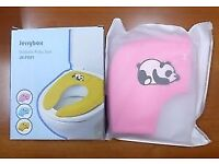 Jerrybox Foldable Travel Potty/Toilet Seat in Pink